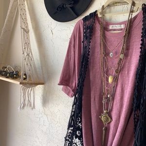 🌼🌻 FREE PEOPLE BOHEMIAN BABE FLOWER NECKLACE ‼️